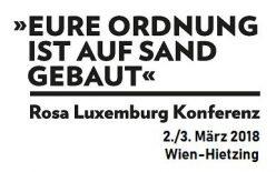 Rosa Luxemburg Konferenz Wien