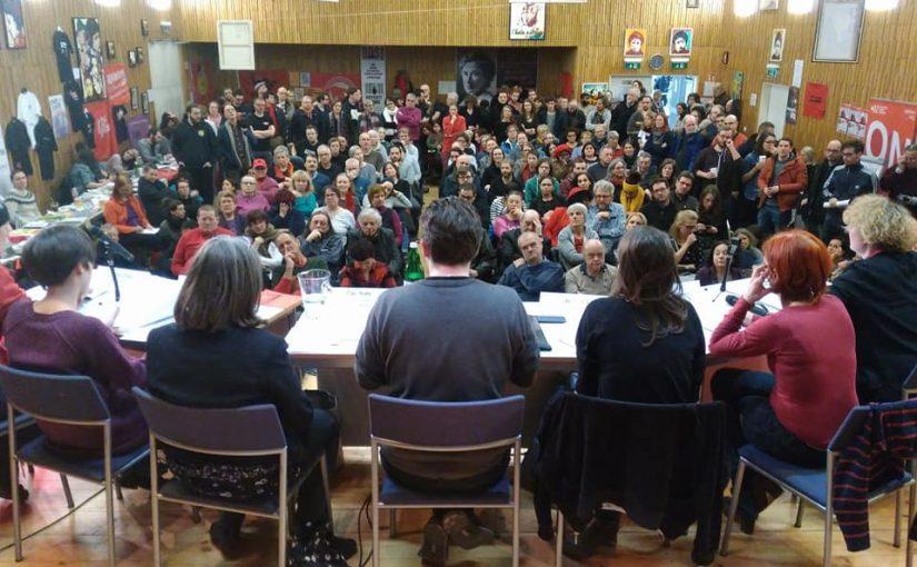 Nach- und Vorbesprechung Rosa Luxemburg Konferenz 2018/2019