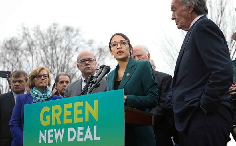 Alexandria Ocasio Cortez: Green New Deal, Jobgarantie und Modern Monetary Theory – die Zukunft linker Politik