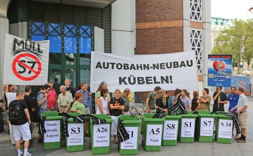 Widerstand gegen eine Lobau-Autobahn…