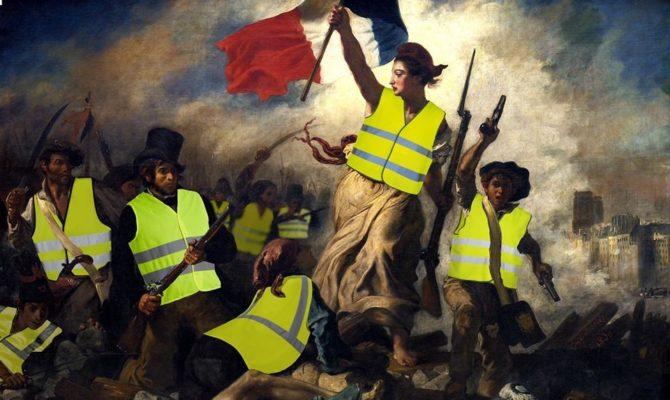 Der Protest der Gelbwesten in Frankreich